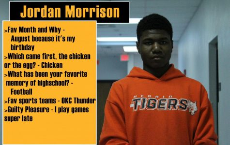 Today's Freshman Tiger – 3/19/18
