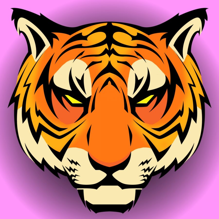 Tiger Icon Pink