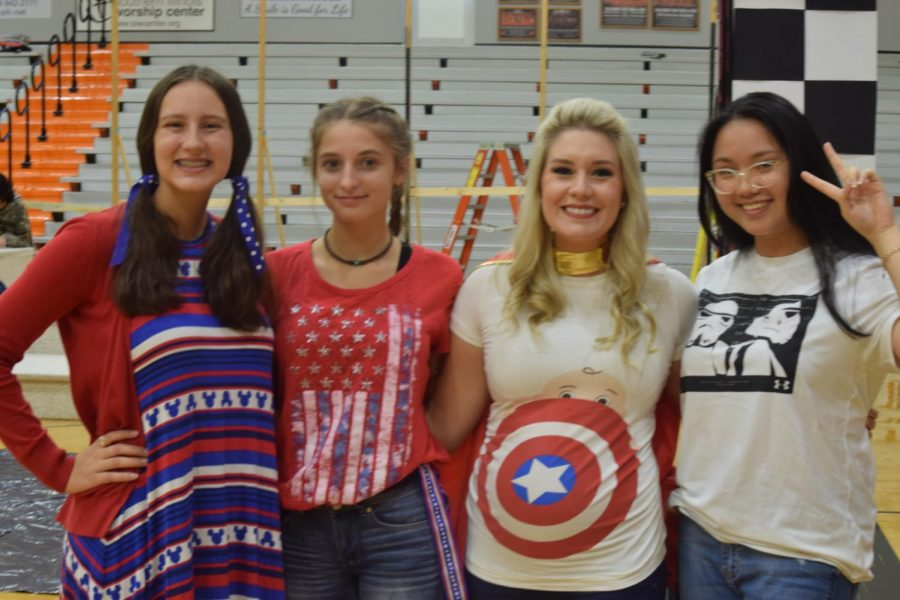 Spirit Week Day 1: America Day