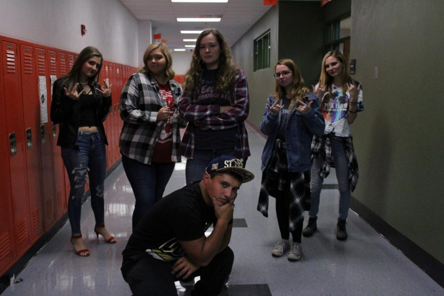 Spirit Week Day 3: Rappers vs. Rockers