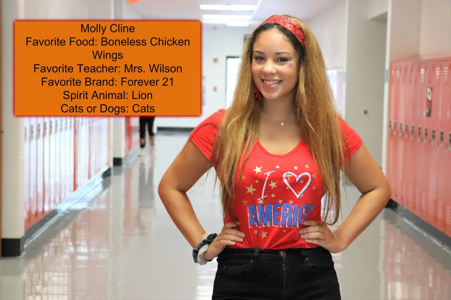 OUR FIRST SENIOR TODAY'S TIGER OF THE 2018-2019 SCHOOL YEAR