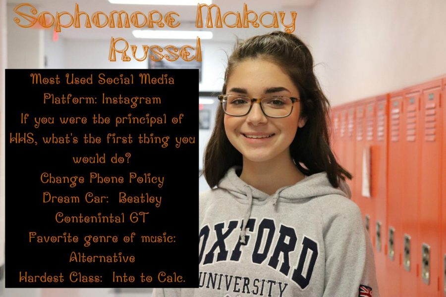 Today's Tiger:  Sophomore