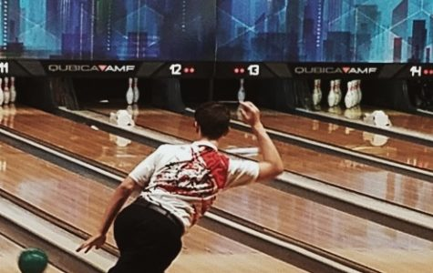 Aaron Workman (11) goes for a strike at one of the first matches of the reason.