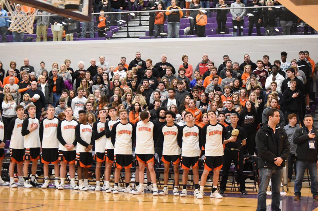 The boy's basketball team can hold their head high after their stellar season.  Although the seniors might have played their last game, they can leave knowing they were part of one of the most successful seasons in Herrin's history.