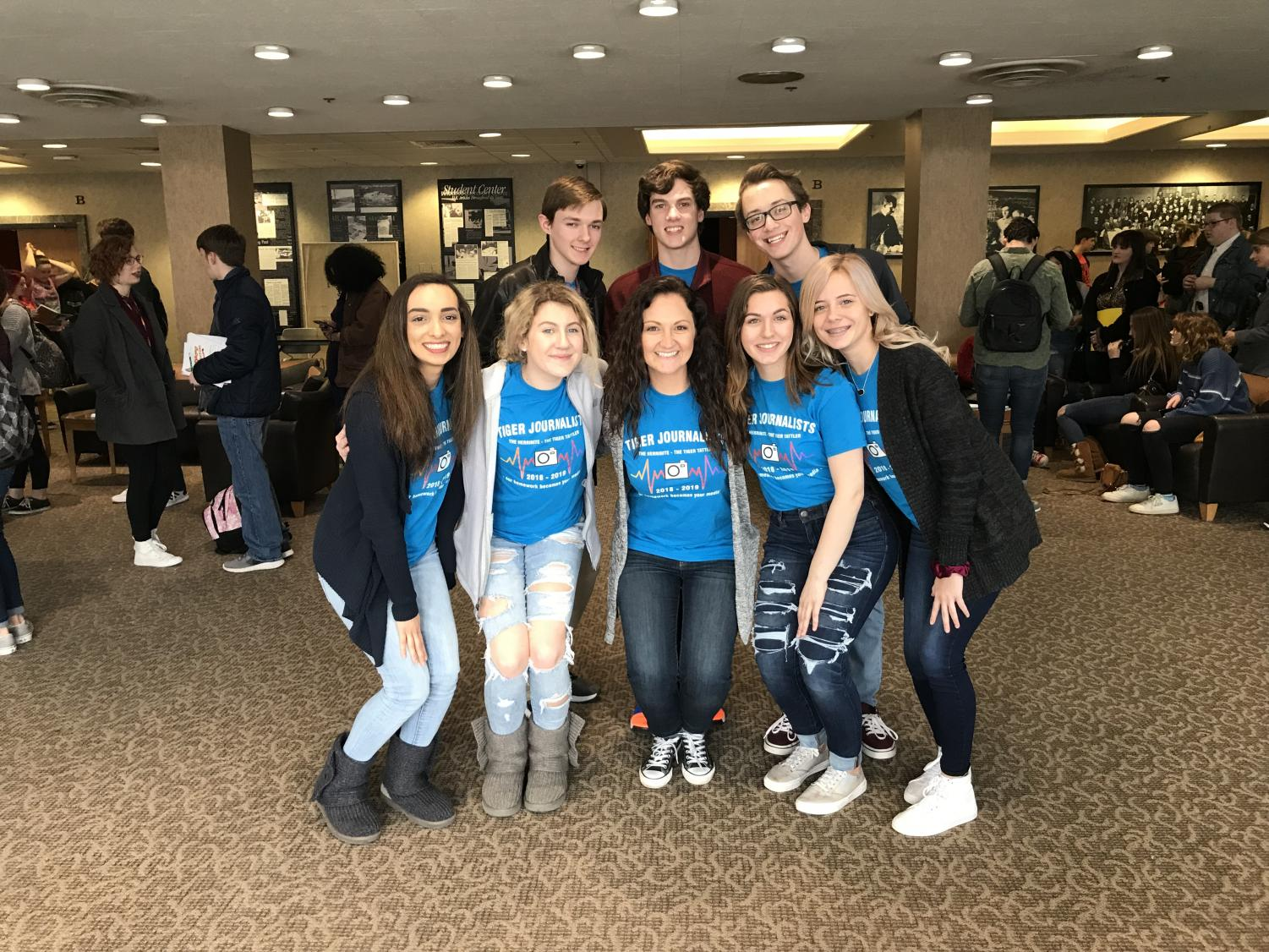The Tiger journalists outperformed the competition at the annual SISPA competition at SIUC.