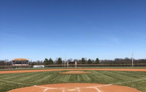 The Tiger baseball field waits, manicured and ready, for another great season of Tiger ball.