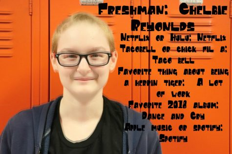 Today's Tiger: Freshmen