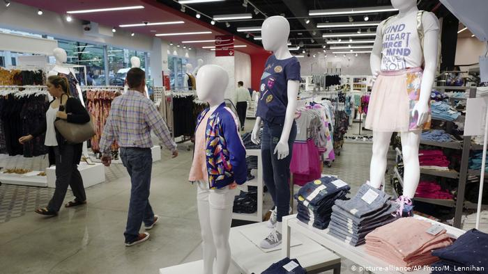 Department stores around the world are filled with racks upon racks of fast fashion.