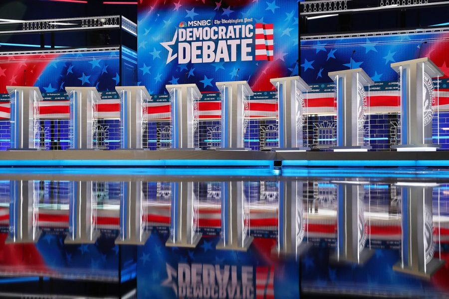 The+5th+democratic+debate+was+held+in+Atlanta+on+November+20th.