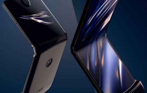 Nostalgic Flip-Phone Meets Modern Smartphone